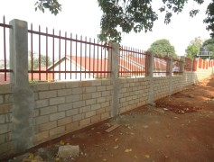 Perimeter Wall at Law Development Centre, LDC